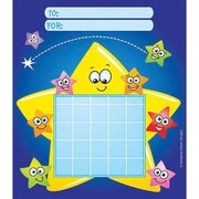 Silver Lead-Sandy Lion Incentive Chart Pad, Stars With Faces