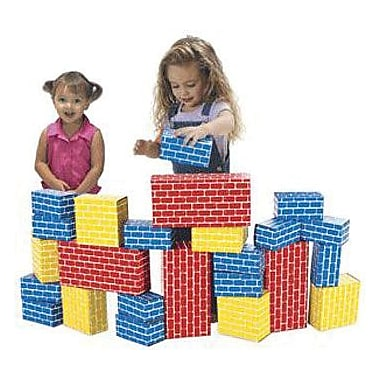 Smart Monkey® Giant Building Block Set, 24 Pieces/Set