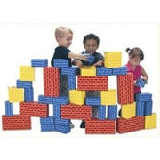 Smart Monkey® Giant Building Block Set, 40 Pieces/Set