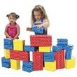 Smart Monkey® Giant Rainbow Building Block Set, 24/Set