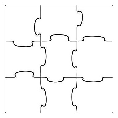 Trend Enterprises® pre-kindergarten - 9th Grades Classic Accents, Make Your Own Puzzles