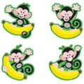 Trend Enterprises® pre-kindergarten - 9th Grades Mini Accents, Monkeys and Bananas