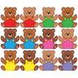 Trend Enterprises® Pre-kindergarten - 9th Grades Mini Classic Accents, Bears