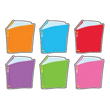 Trend Enterprises® Pre-kindergarten - 9th Grades Mini Classic Accents, Bright Books