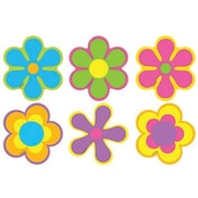 "TREND T-10823 3"" DieCut Nature Flower Power Mini Accents, Multicolor"