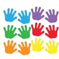 Trend Enterprises® Pre Kindergarten - 9th Grades Mini Classic Accents, Handprints