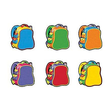 TREND T-10832 3in. DieCut Backpacks Mini Accents, Multicolor