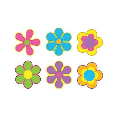 Trend Enterprises® pre-kindergarten - 9th Grades Classic Accents, Flower Power