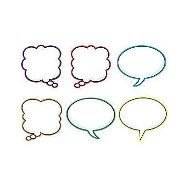 Trend Enterprises® pre-kindergarten - 9th Grades Classic Accents, Speech Balloons