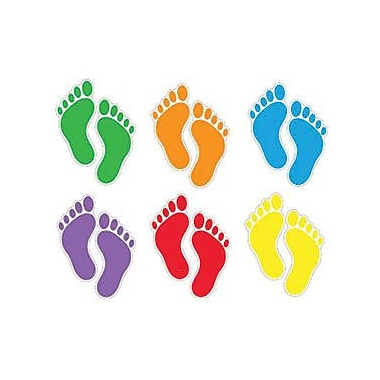 Trend Enterprises® pre-kindergarten - 9th Grades Classic Accents, Footprints