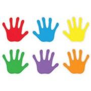 Trend Enterprises® Pre-kindergarten - 9th Grades Classic Accents, Handprints