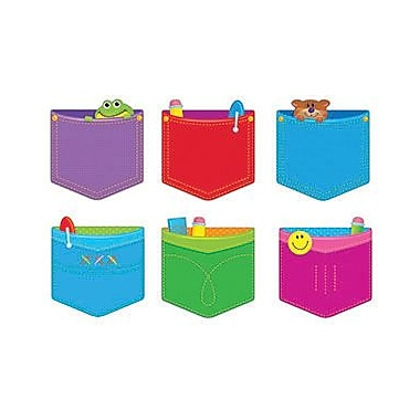 Trend Enterprises® pre-kindergarten - 9th Grades Classic Accents, Playful Pockets