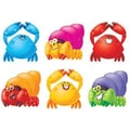 Trend Enterprises® pre-kindergarten - 6th Grades Classic Accents®, Happy Crabs