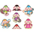 Trend Enterprises® Pre Kindergarten - 6th Grades Classic Accents®, Color Monkeys