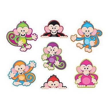 Trend Enterprises® Pre-kindergarten - 6th Grades Classic Accents®, Color Monkeys