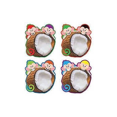 Trend Enterprises® Pre Kindergarten - 6th Grades Classic Accents®, Monkey Mischief Coconut Chums