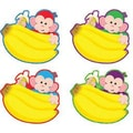 Trend Enterprises® pre-kindergarten - 6th Grades Classic Accents®, Monkey Mischief Banana Buddies
