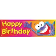 Trend Enterprises® Happy Birthday Bookmark, Grades Kindergarten - 6th