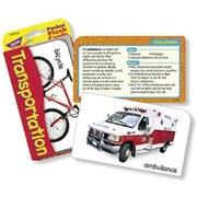 Trend Enterprises® Flash Cards, Transportation Pocket