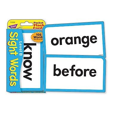 Trend Enterprises® Grades 1st - 3rd Pocket Flash Cards