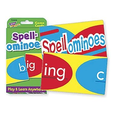 Trend Enterprises® Challenge® Spellominoes Cards, Grades 1st -4th