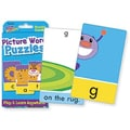 Trend Enterprises® Picture Word Puzzles Cards, Grades pre-kindergarten - 2nd