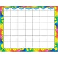 Trend Enterprises® Wipe-Off Monthly Calendar, Rainbow Gel