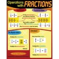 Trend Enterprises® Operations With Fractions Learning Chart
