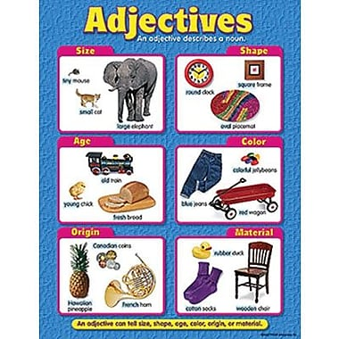 Trend Enterprises® Adjectives Learning Chart