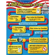 Trend Enterprises® A Bill Becomes A Law Learning Chart