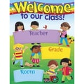 Trend Enterprises® Welcome Trend Kids Learning Chart