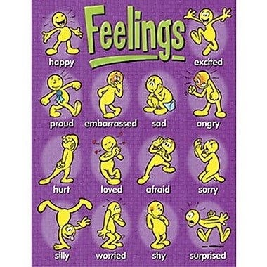 Trend Enterprises® Feelings Learning Chart