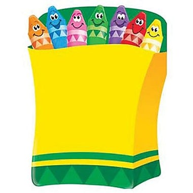 Trend Enterprises® Colorful Crayons Learning Chart