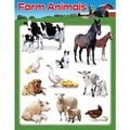 Trend Enterprises® Farm Animals Learning Chart