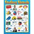 Trend Enterprises® Ending Blends Learning Chart