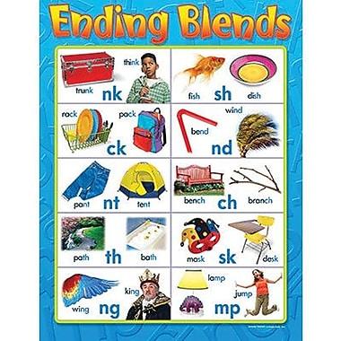 Trend Enterprises® Ending Blends Learning Chart