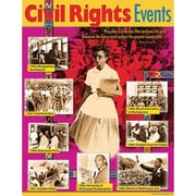 Trend Enterprises® Civil Rights Events Learning Chart