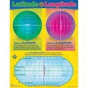 Trend Enterprises® Latitude and Longitude Learning Chart