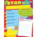 Trend Enterprises® Star of The Week Learning Chart