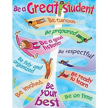 Trend Enterprises® Be A Great Student Learning Chart