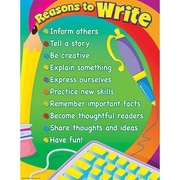 Trend Enterprises® Reasons To Write Learning Chart