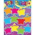 Trend Enterprises® Happy Birthday (Gumdrop Stars) Learning Chart