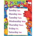 Trend Enterprises® Furry Friends™ Days of The Week Learning Chart