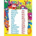 Trend Enterprises® Furry Friends™ Months of The Year Learning Chart