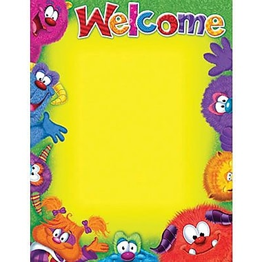 Trend Enterprises® Furry Friends™ Blank Welcome Learning Chart