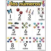 Trend Enterprises® Los Numeros (Spanish) Learning Chart