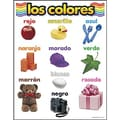 Trend Enterprises® Los Colores (Colors) Spanish Learning Chart