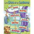 Trend Enterprises® Los Dias de la Semana (Days of The Week) Spanish Learning Chart
