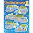 Trend Enterprises® Como Lavar Las Manos (Washing Your Hands) Spanish Learning Chart