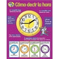 Trend Enterprises® Como decir la hora (Telling Time) Spanish Learning Chart